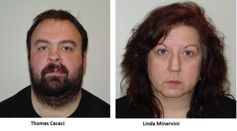 Thomas Cacaci and Linda Minervini